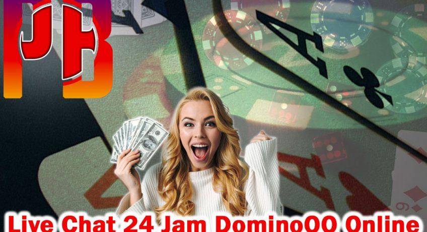 DominoQQ - Live Chat 24 Jam Dominoqq Online - PenBlade